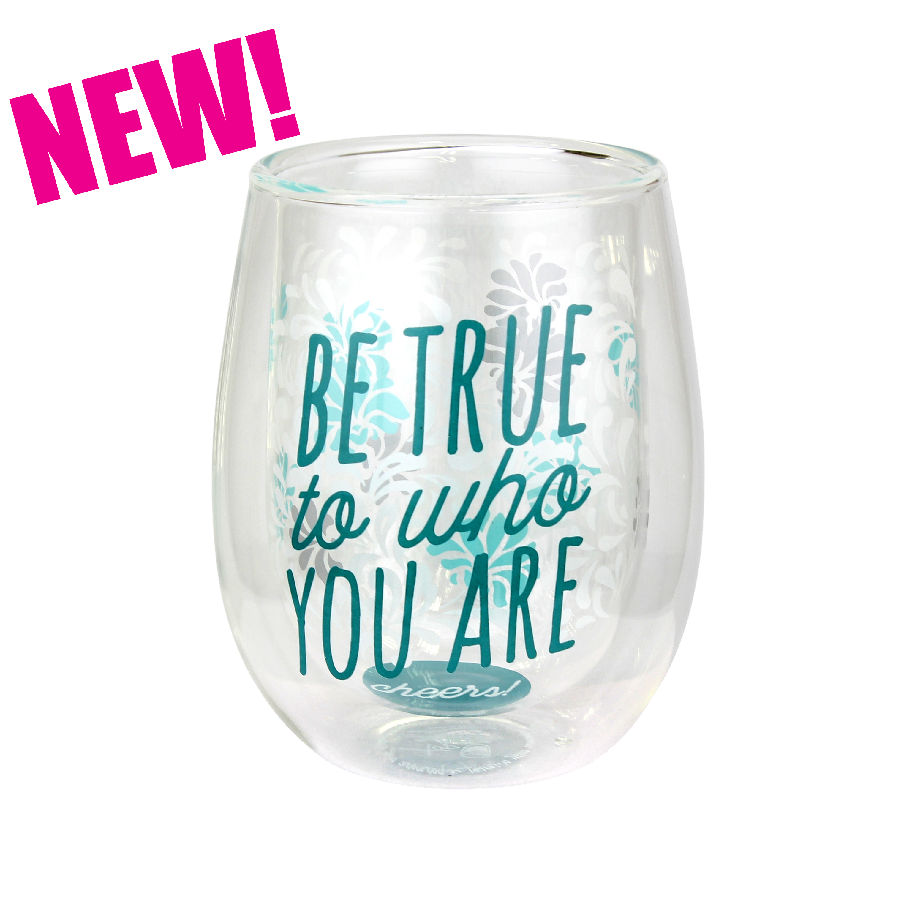 Be True to Who You Are - Top Shelf Glasses