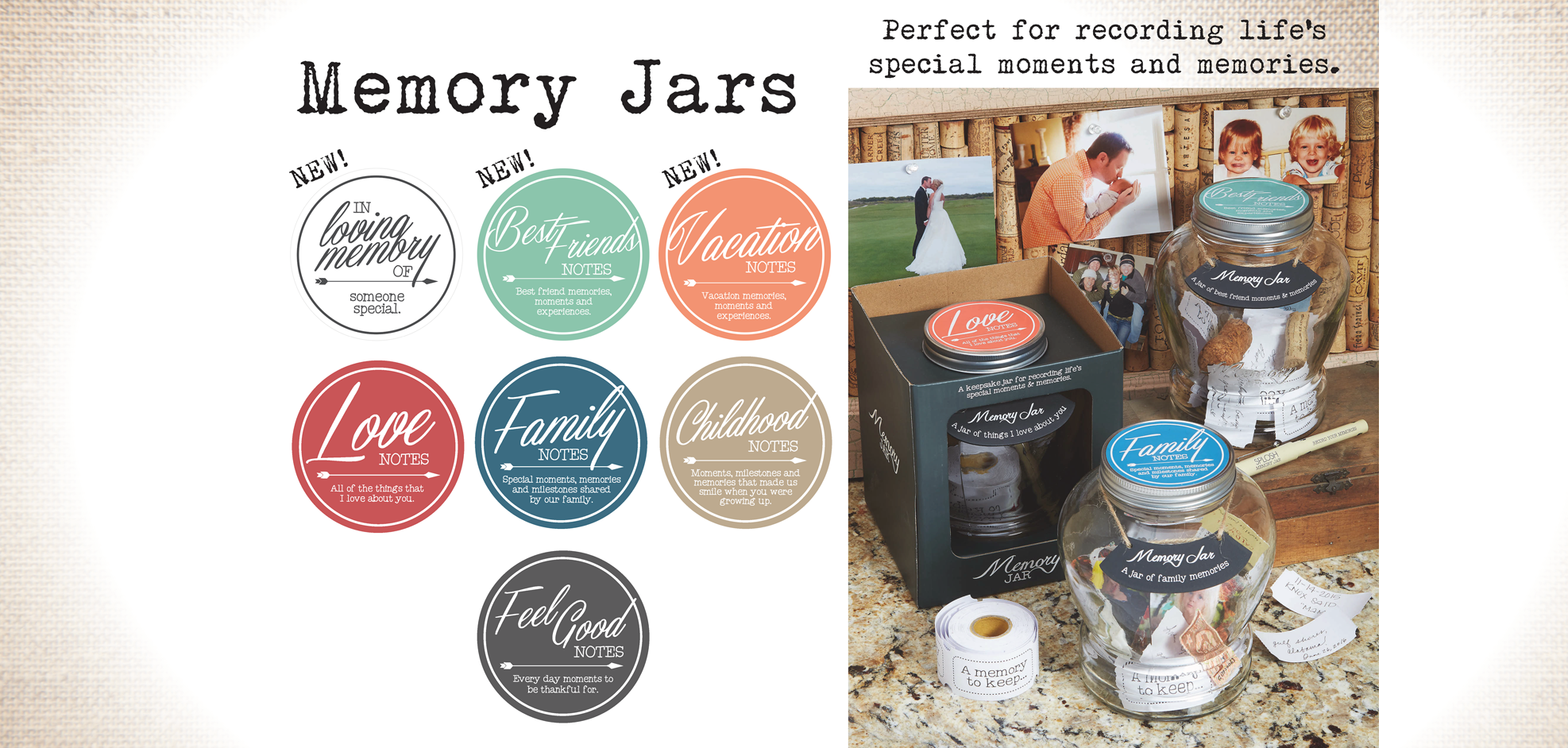 Top Shelf Glasses - Memory Jars 2021